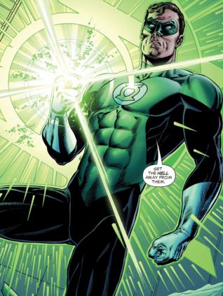Hal retorna triunfante em Lanterna Verde: Renascimento