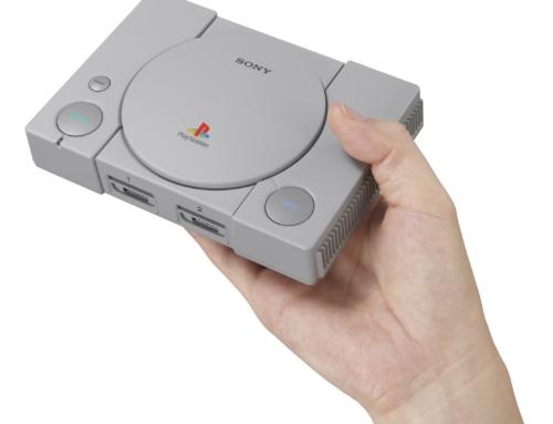 Sony entra na onda e anuncia PlayStation Classic